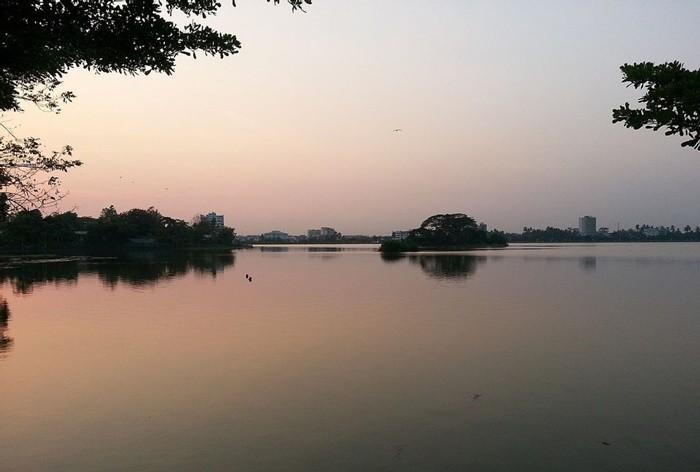 Hồ Inya Myanmar - ngắm hoàng hôn bên hồ
