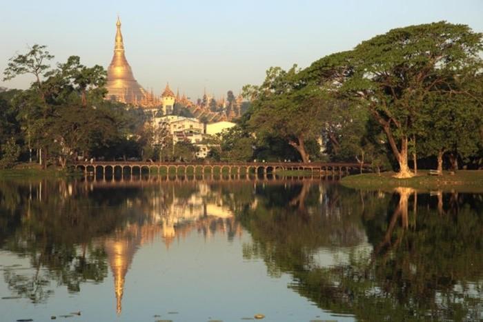 Hồ Inya Myanmar - tham quan công viên Kandawgyi