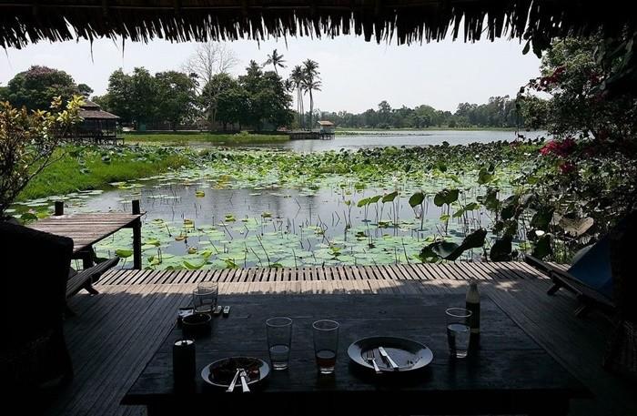 Hồ Inya Myanmar - thưởng thức bữa tối bên hồ