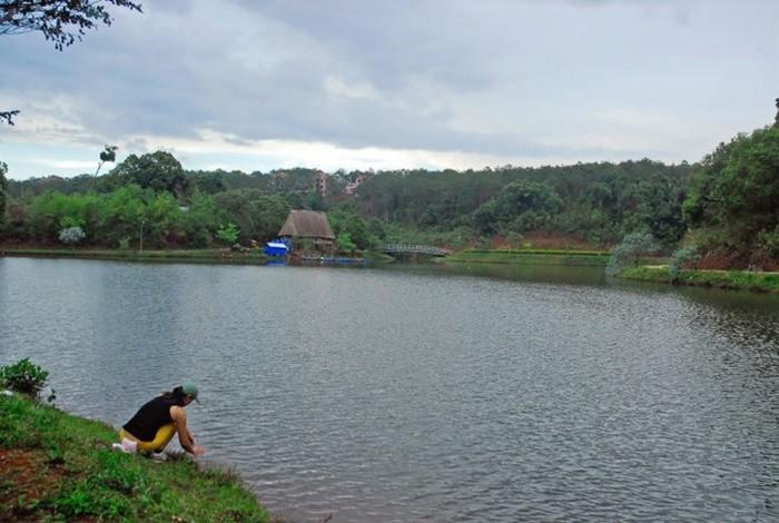 Đôi nét về hồ Toang Đam - Kon Tum