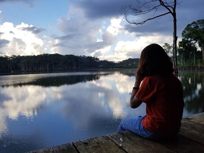 Hồ Toong Đam - đón hoàng hôn bên hồ