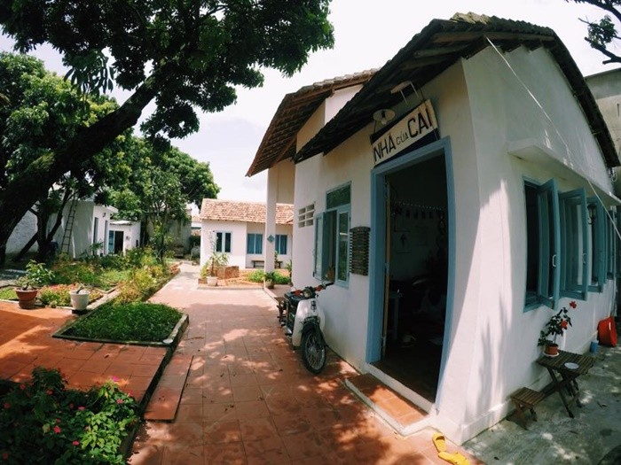 Peaceful garden homestay Kon Tum in the heart of the city
