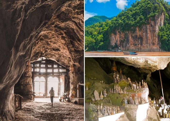 Khám phá hang Pak Ou bí ẩn với hàng ngàn bức tượng Phật