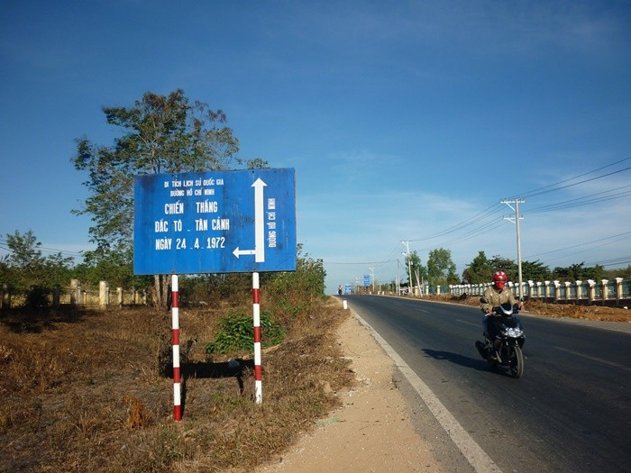 Back to Kon Tum, remember to visit the victory relic of Dak To - Tan Canh