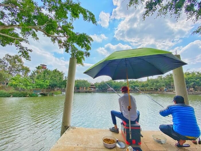 Khu du lịch sinh thái Hoàng Vân - câu cá thư giãn