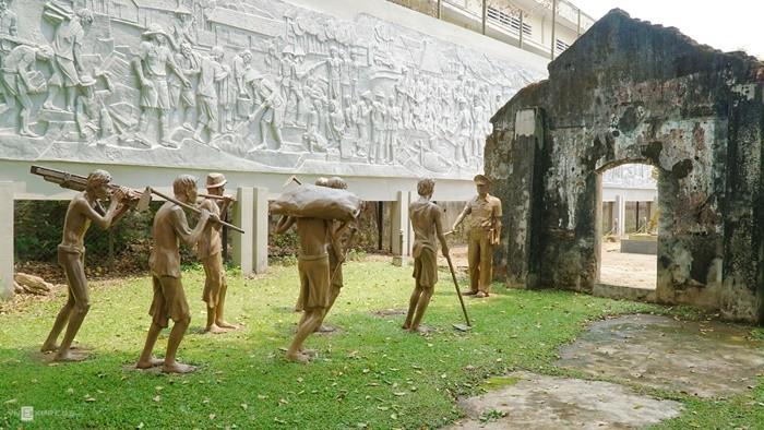 Nhà tù Pleiku - hình ảnh giam tù binh