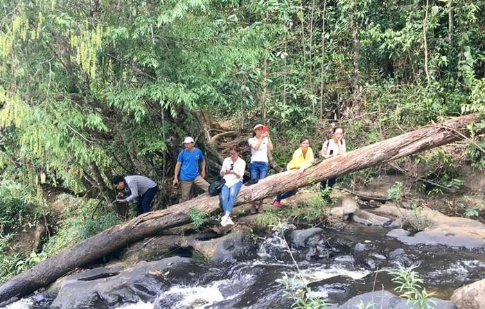 Kon Bong Gia Lai Waterfall - ideal place for picnic and camping