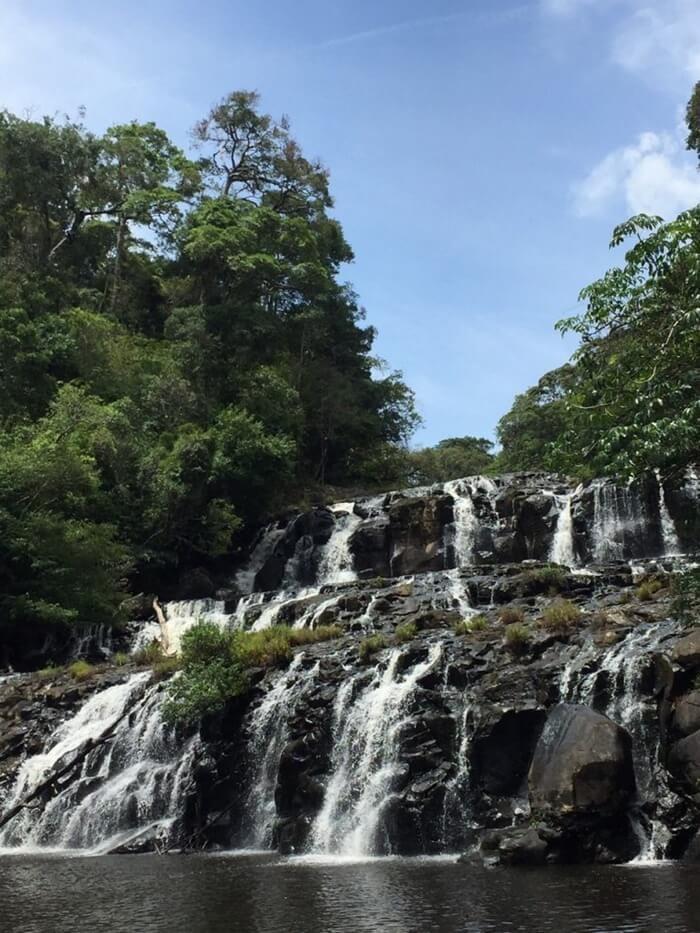 Kon Bong Gia Lai Waterfall - another name is Three Floor Waterfall