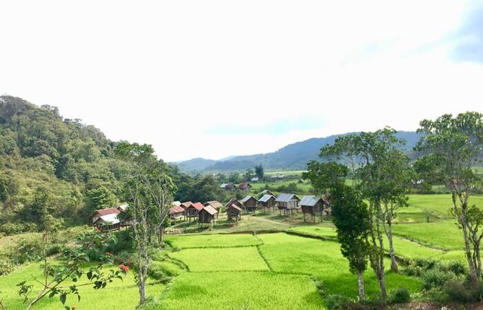 Kon Bong Gia Lai Waterfall - Kon Bong village