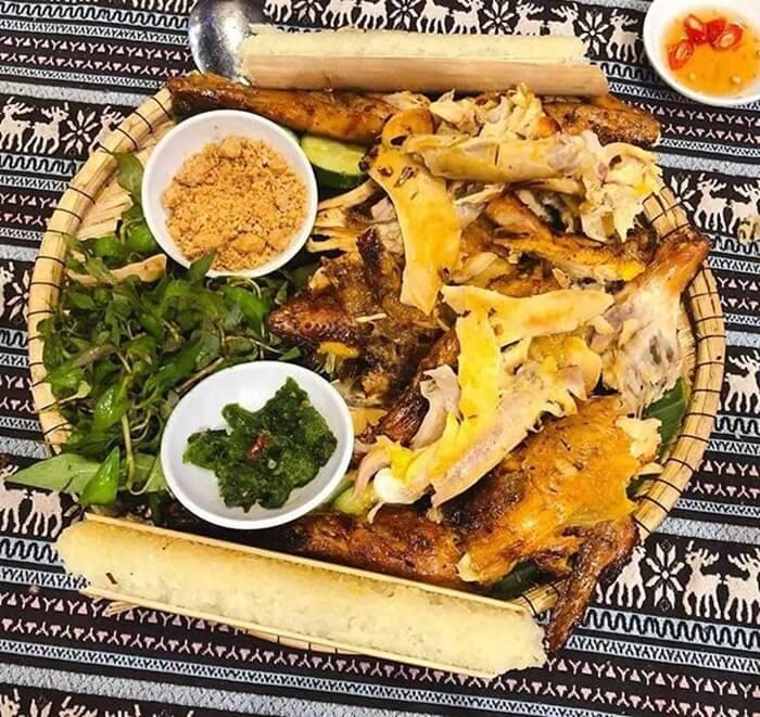 Vườn quốc gia Kon Ka Kinh - gà nướng