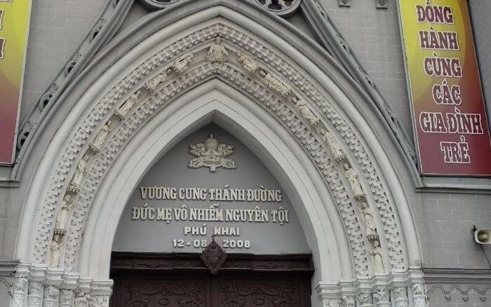 Vương cung thánh đường Phú Nhai - mái vòm
