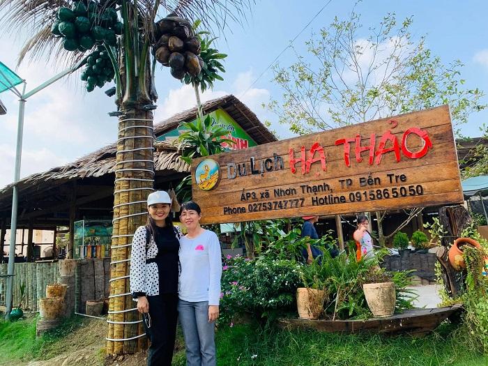 Khám phá điểm vui chơi yêu thích ở Bến Tre: Khu du lịch Hạ Thảo