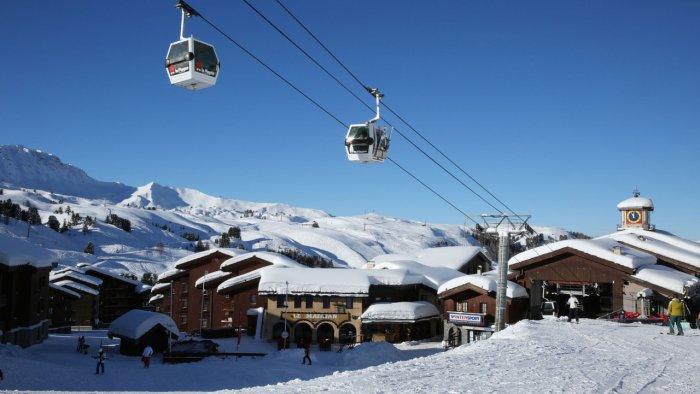Khu trượt tuyết La Plagne nước Pháp