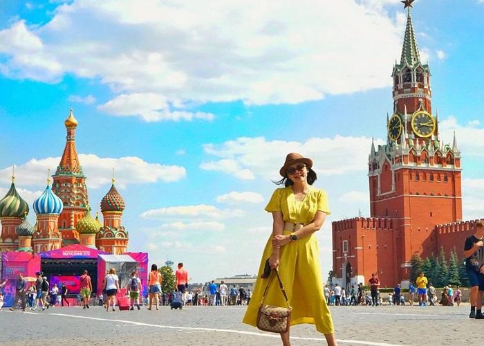 Quảng trường Đỏ - niềm tự hào của người dân nước Nga