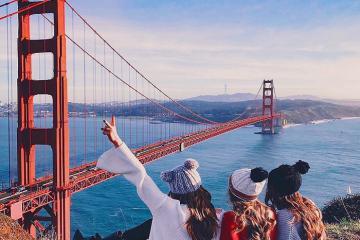 Vẻ đẹp vượt thời gian của Cầu Cổng Vàng San Francisco nước Mỹ