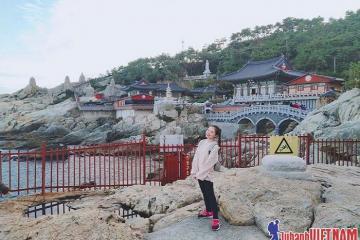 Khám phá vẻ đẹp của chùa Headong Yonggungsa độc nhất vô nhị tại Hàn Quốc