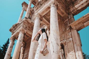 Thành phố cổ Ephesus – Vùng đất Thánh vàng son một thời của Đế chế La Mã