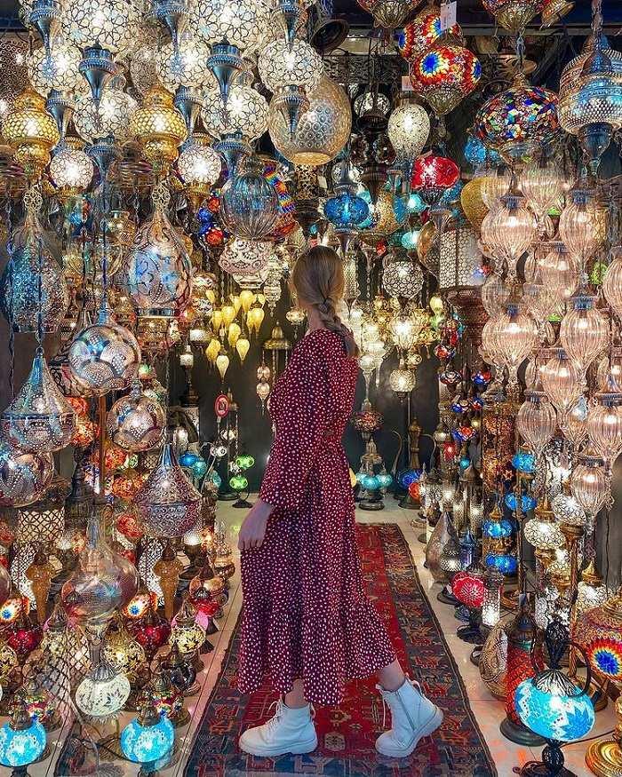 Grand Bazaar khu chợ ở Istanbul nổi tiếng