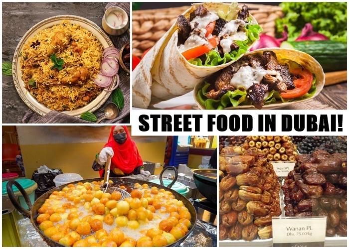 """Món ăn đường phố ở Dubai cực hấp dẫn nhìn là mê ăn sẽ """"ghiền"""""""