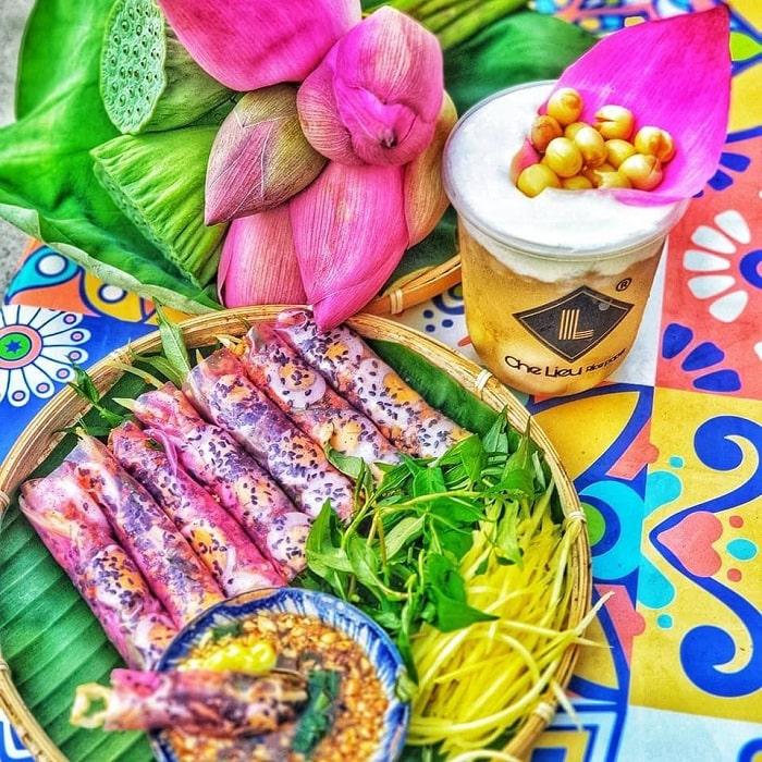 Cake Che Lieu - a snack shop in Tay Ninh 'delicious armpits'