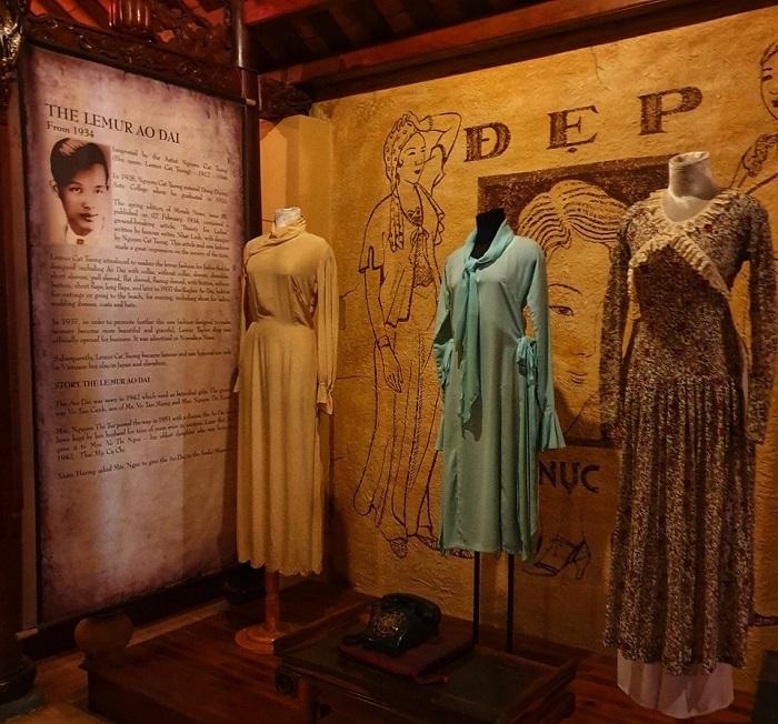 Saigon Ao Dai Museum - along the long history of Vietnamese ao dai