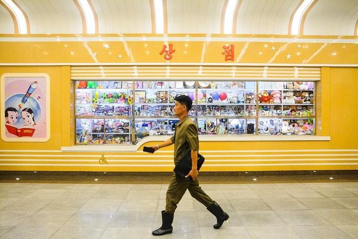 bảo tàng - điểm độc đáo của tàu điện ngầm Bình Nhưỡng