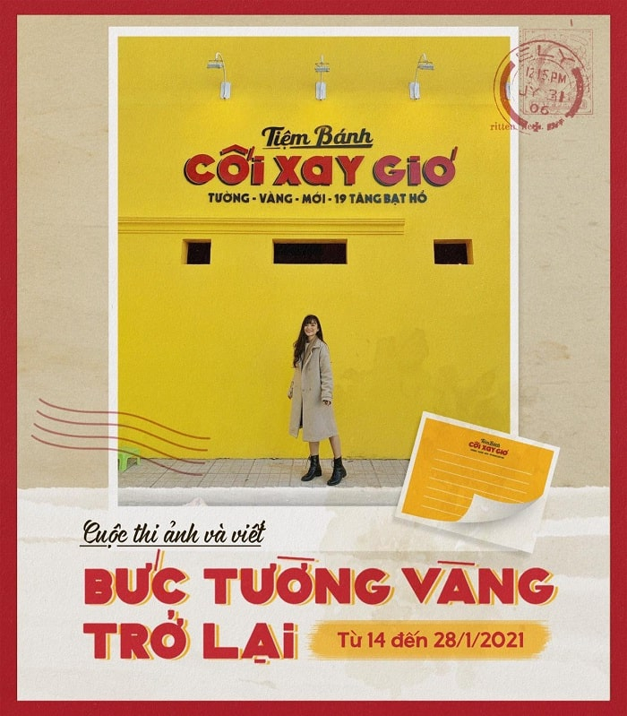photo contest at the Golden Wall of Dalat