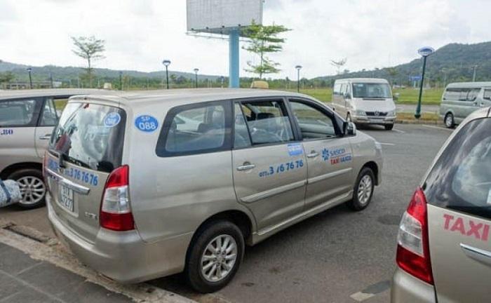 Taxi companies in Phu Quoc - taxi Sasco Phu Quoc