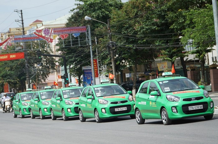 Taxi companies in Phu Quoc - Mai Linh taxi