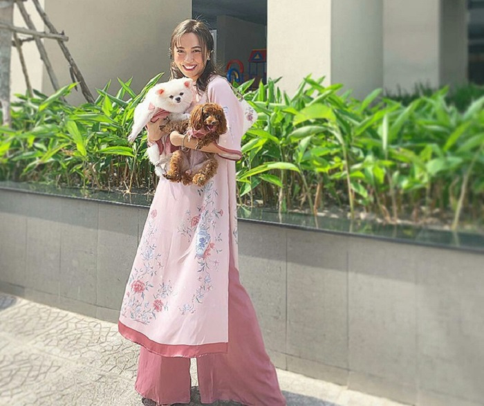 How to coordinate toys for Tet 2021 - Ao Dai