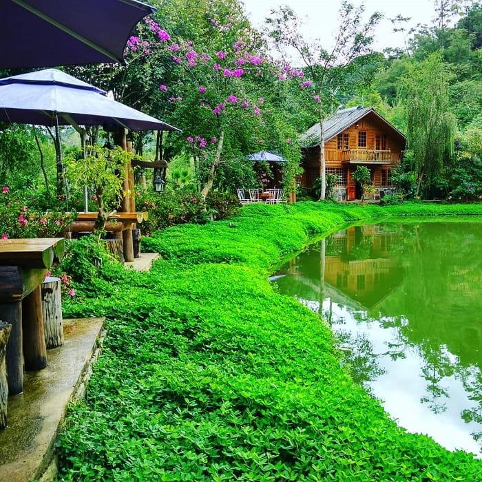 camping in Da Lat - Lama Forest Lu Quan