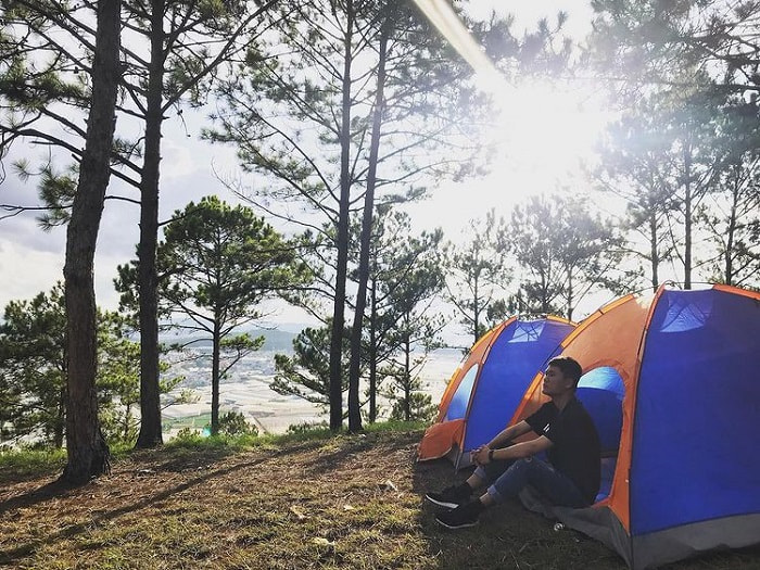 camping in Da Lat - Bo island