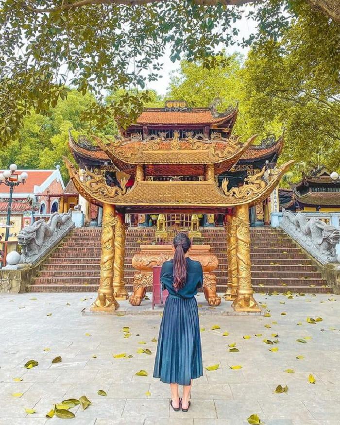 Chùa Bà Chúa Kho là một trong những điểm du lịch tâm linh ngày Tết gần Hà Nội