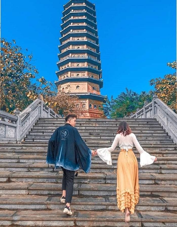 Chùa Bãi Đính - điểm du lịch tâm linh ngày Tết gần Hà Nội