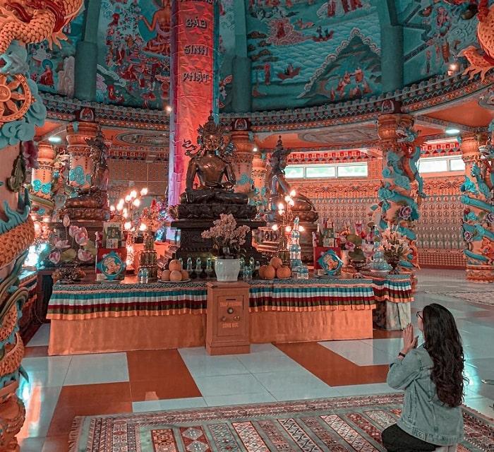 Chùa Tây Thiên là một trong những điểm du lịch tâm linh ngày Tết gần Hà Nội