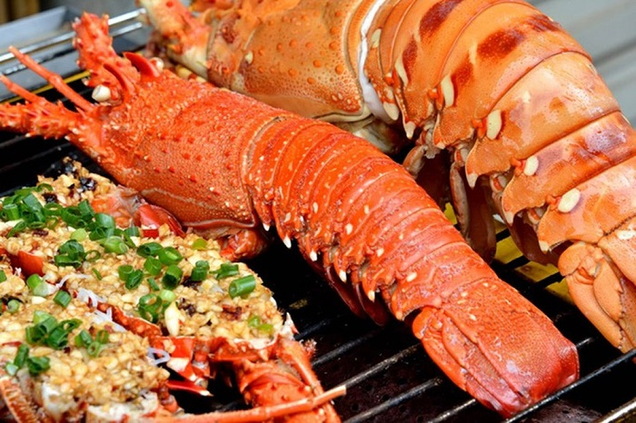 Con Dao fire lobster - king of seafood