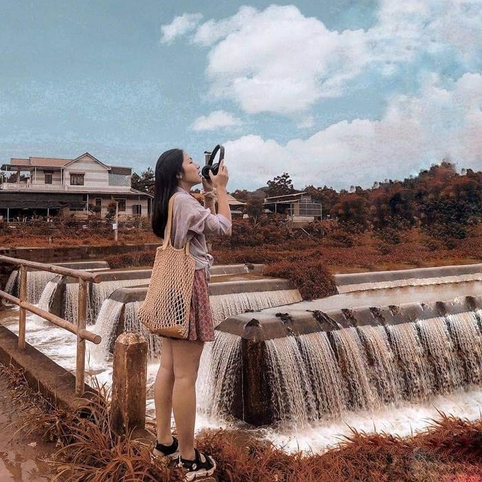 Check-in dam W in Dak Nong