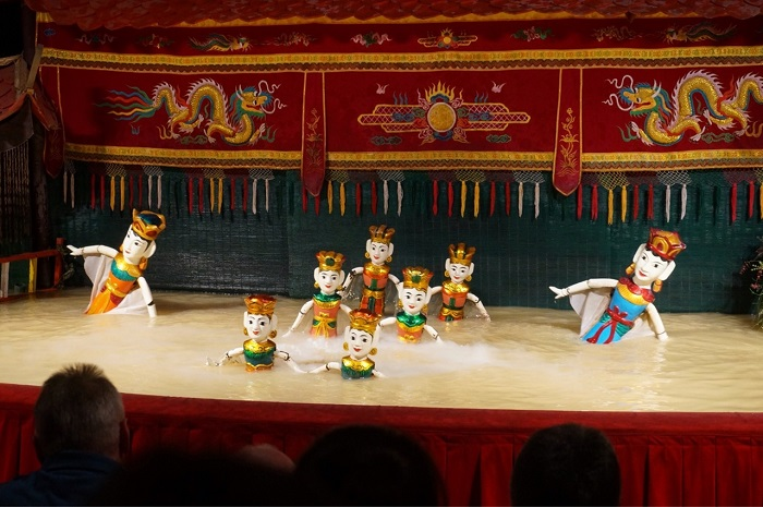 Water puppet art - Vietnamese cultural heritage