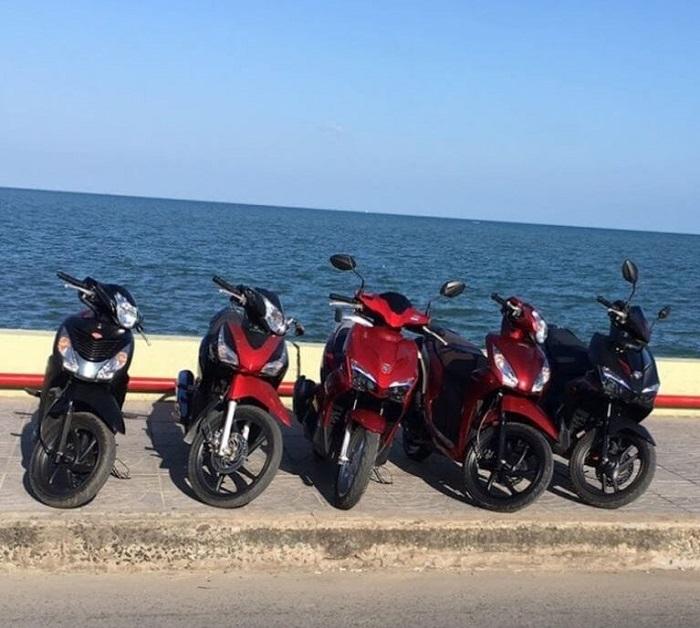 Motorcycle rental address in prestigious Phu Quoc - Hong Chau shop