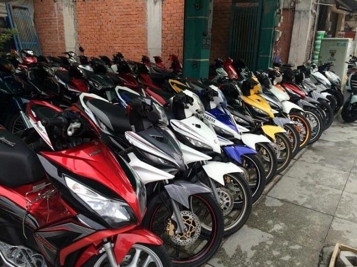 Motorcycle rental address in prestigious Phu Quoc - Lan's shop