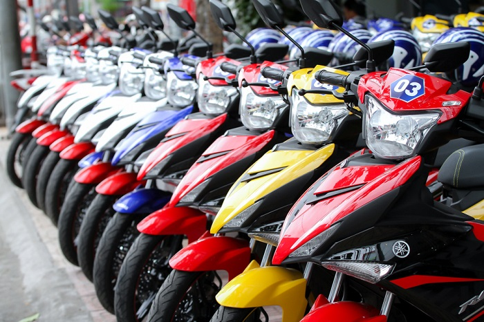Motorcycle rental address in prestigious Phu Quoc - Cuong Thinh store