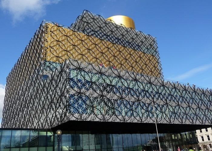 Những địa điểm du lịch ở Birmingham -Trung tâm thành phố lịch sử, Birmingham