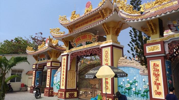 spiritual tourist destination in Phu Quoc - Quoc Hung Tu pagoda