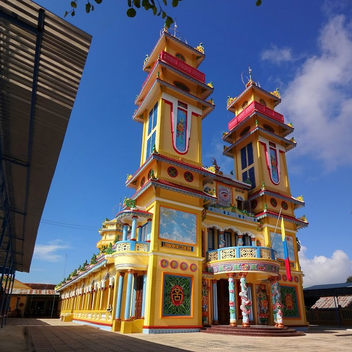 spiritual tourism destination in Phu Quoc - Thanh That Duong Dong
