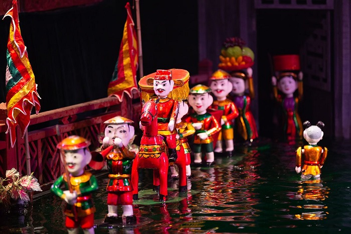 About water puppetry art