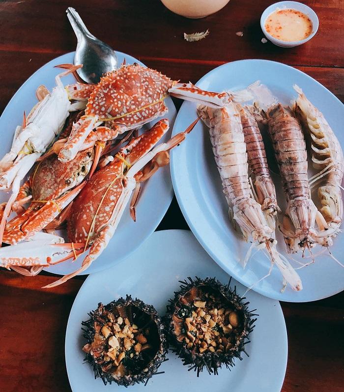 Du lịch Phú Quốc Tết Nguyên Đán - hải sản Phú Quốc