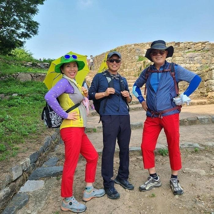 đường mòn đi bộ Hàn Quốc luôn hấp dẫn