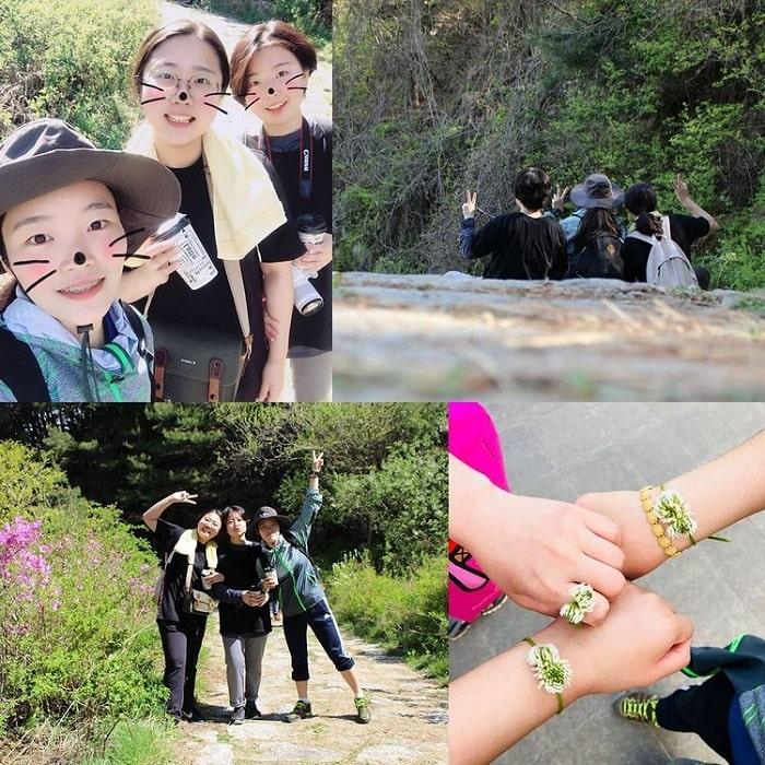 đường mòn đi bộ Hàn Quốc - khám phá núi Jirisan