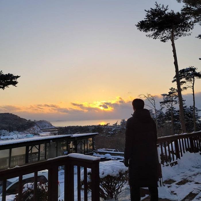 đường mòn đi bộ Hàn Quốc - đường dọc biển Taean