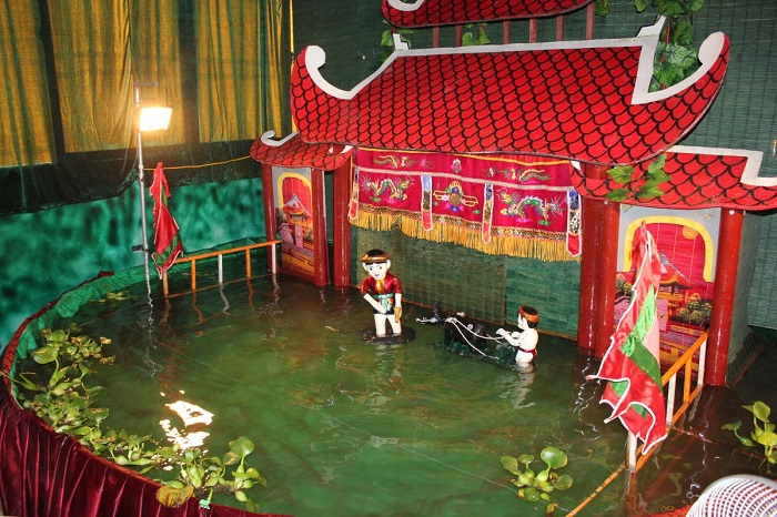 Introducing the art of water puppetry